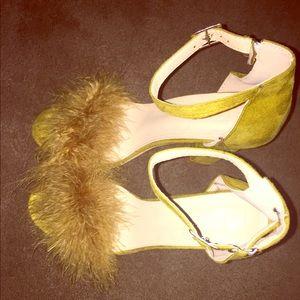 Shoes - Furry heels